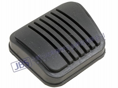 Rubber Brake Clutch Pedal Foot Pad Cover
