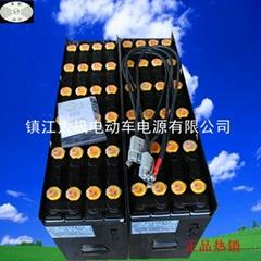 TCMFBR10叉車電池現貨定製叉車蓄電池一件代發