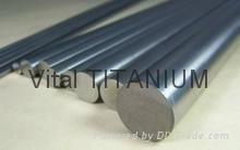 Titanium Bars as per ASTM B348 Standard