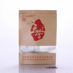 High Quality Stand up Zip Lock Kraft with Window Tea Bag Coffee