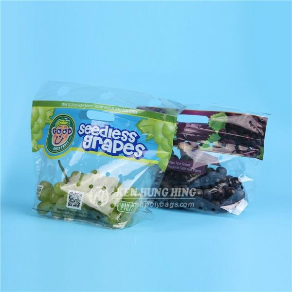 High Quality Customize Printing Plastic Grape Bags Stand up Zip Pouch 1