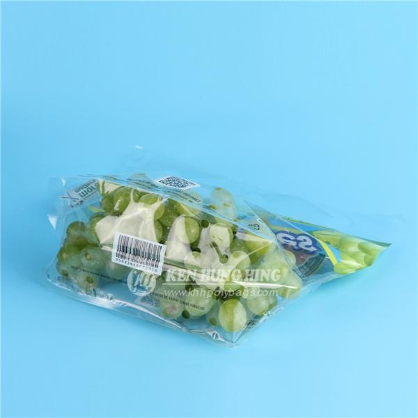High Quality Customize Printing Plastic Grape Bags Stand up Zip Pouch 2