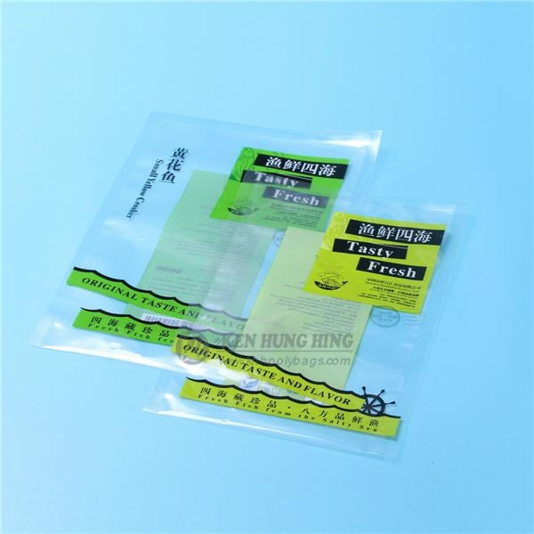 High Quality SGS Approved Food Safe Plastic Freezer Bags for Meat 2