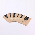 High Quality Customize 3-side Seal Kraft Paper Coffee Beans Packaging 2