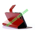 Crazy Horse Texture Flip Stand Leather