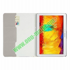 Flip Leather Case for Samsung Galaxy Note 10.1 2014 Edition P600 (Retro UK Flag
