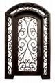 wrought iron door double door 5