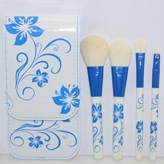 Free Shipping 6 pcs Coloful Vintage color sexy beauty cosmetics necessaire makeu