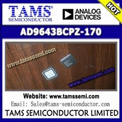 AD9643BCPZ-170 - AD (Analog Devices) - 14-Bit 170 MSPS/210 MSPS/250 MSPS 1.8 V