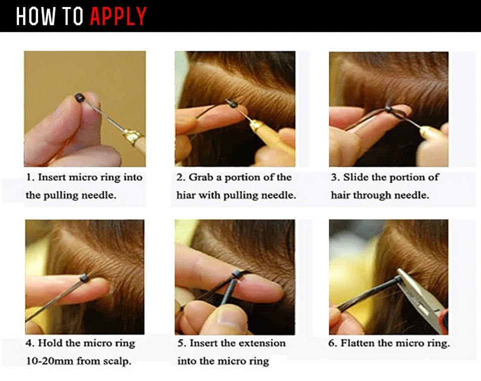 "Blonde I Tip Hair Extenisons 14""-26""  Keratin Stick Tip Hair Extensions 5"