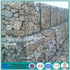 Gabion Wire Mesh Hexagonal Gabion Box for Flood Control