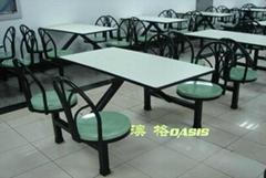 玻璃鋼快餐桌椅CA-3339