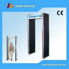 high quality security walk through metal detector HB-200 door frame promotion no