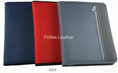Business A4 leather File Folder 2014