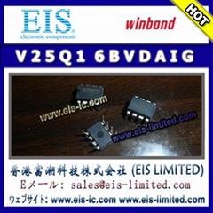 V25Q16BVDAIG - WINBOND - 16M-BIT SERIAL FLASH MEMORY  WITH DUAL AND QUAD SPI