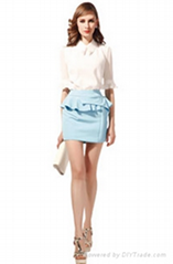 Summer Ladies Fashion lace Blouse