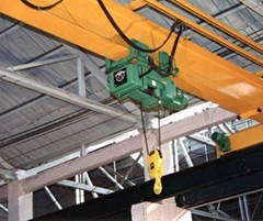LD Single Girder Electric Hoist Crane