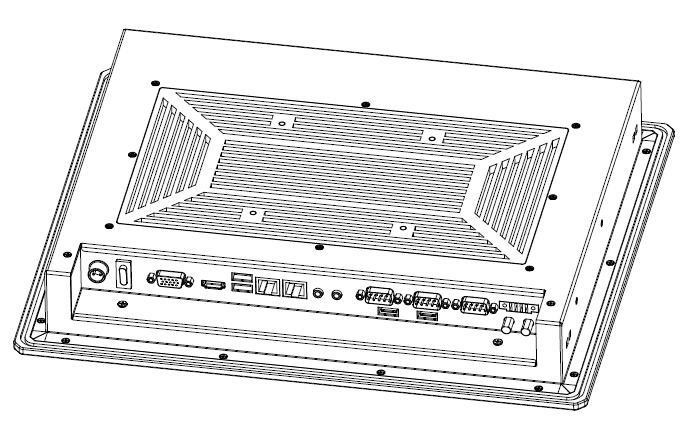 工業平板電腦15寸 4