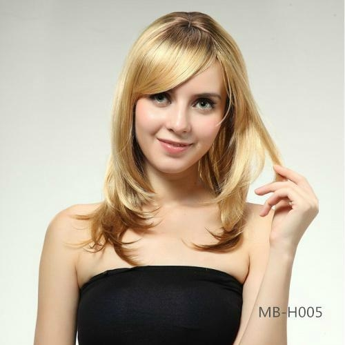 2014 new fashion women's long straight wig 3