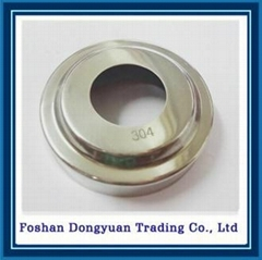 Metal Steel Floor Decorative Cover Flange for Stair handrail Accessories