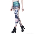 Women's Europe Style  Print Bodycon Leggings Casual Skinny Pants 3
