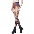Women's Europe Style  Print Bodycon Leggings Casual Skinny Pants 5