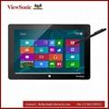 """10.1"""" 電容電磁雙觸控手寫平板,windows8.1系統帶移動鍵盤 3"""