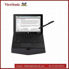"""10.1"""" 电容电磁双触控手写平板,windows8.1系统带移动键盘"""