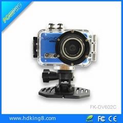 30M 1080P Full HD Waterproof Wifi Helmet Action Camera 12MP H.264