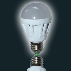 LED声光控球泡5W