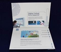 Hardback 4.3 inch video brochure