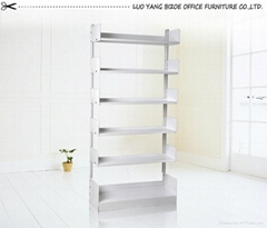 home office use modern steel assemble bookrack