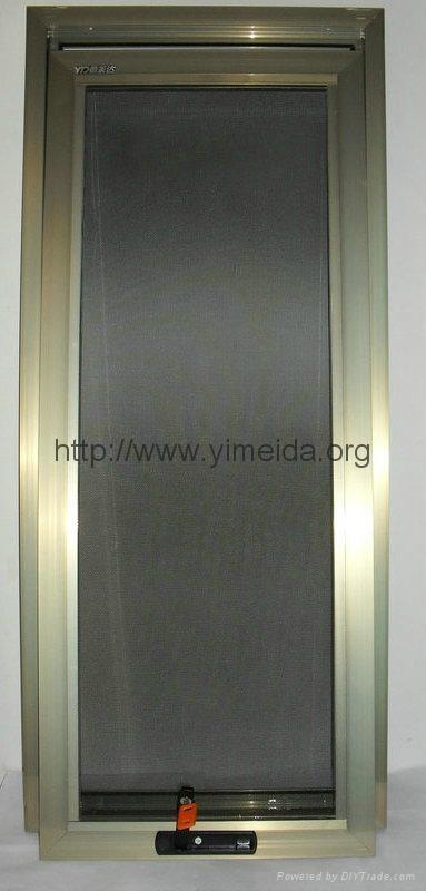 意美达牌框中框可拆洗金刚网纱窗
