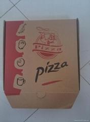 Paper pizza box