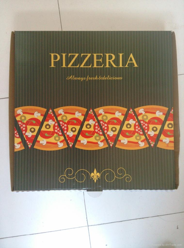 Pizza box& Paper Cup Sleeve&Holder 5