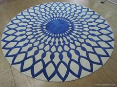 Luxury handmade silk carpet