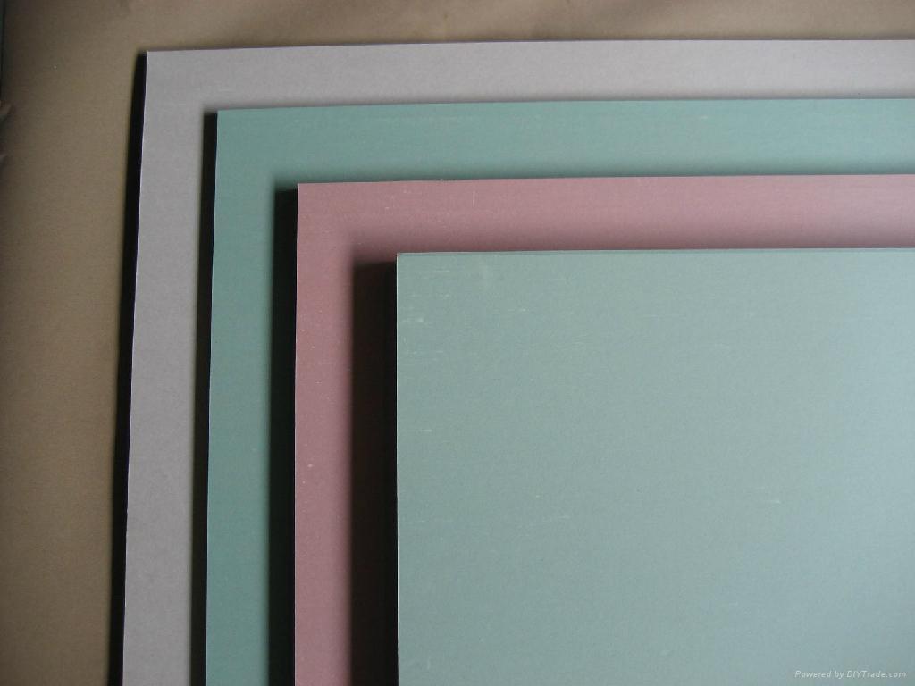 Gypsum board types