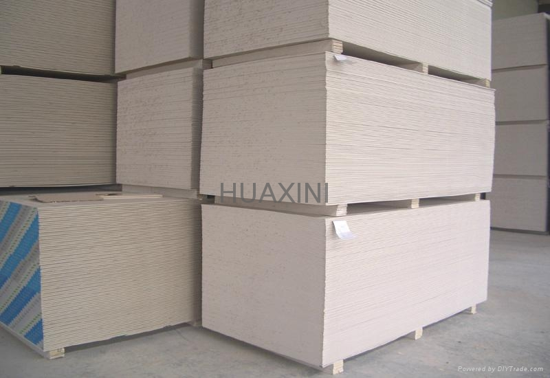 Plasterboards for ceiling and wall  7