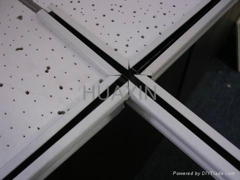 BLACK GROOVE CEILING T BAR