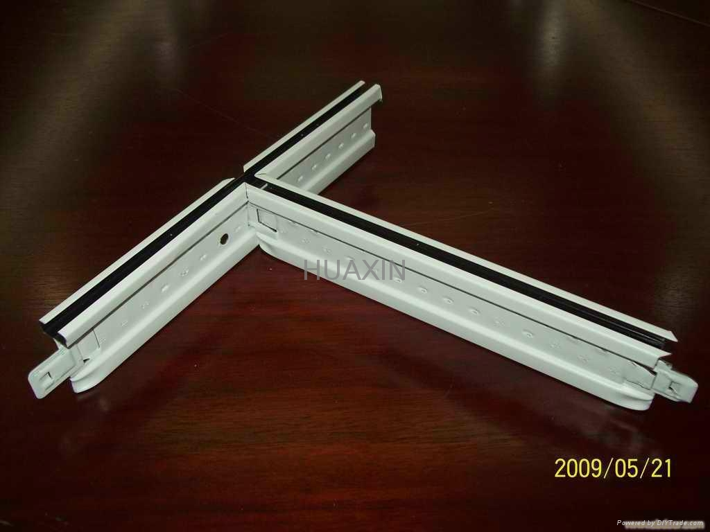 Best price solid groove ceiling t bar for installation/PRICE