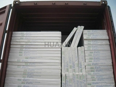 Laminated pvc gypsum ceiling tiles/best price and quality