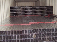 Galvanized steel studs, track, channels