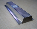 Galvanized steel studs, track, channels, angles