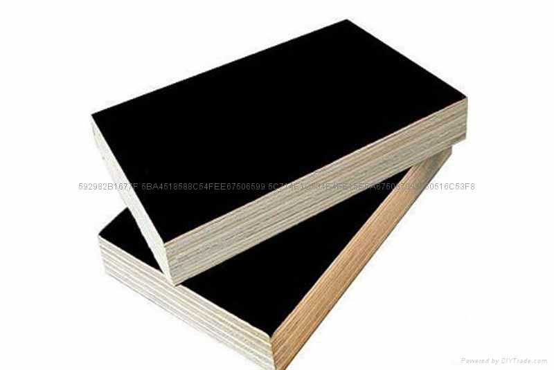 黑色建筑模板