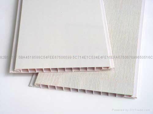Vinyl ceiling panels
