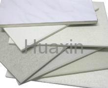 Calcium silicate architecture boards