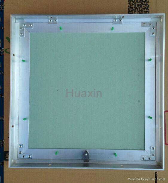 Aluminum gypsum access panel