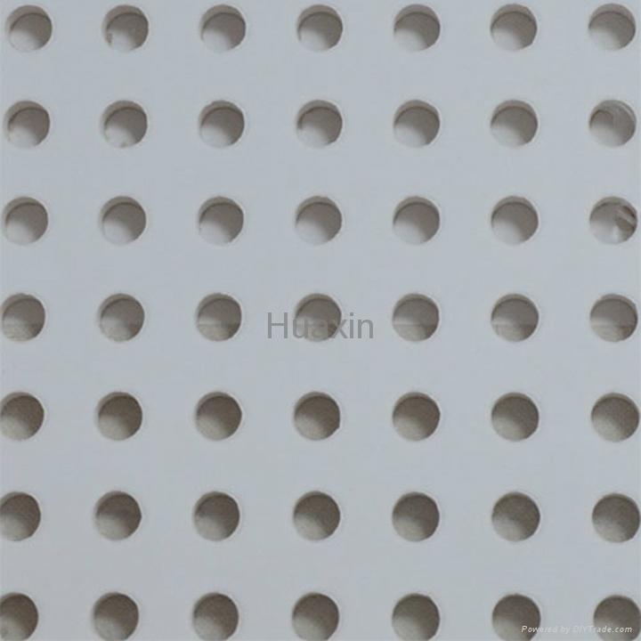穿孔石膏板-圆孔