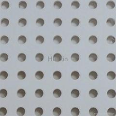 穿孔石膏板-圓孔