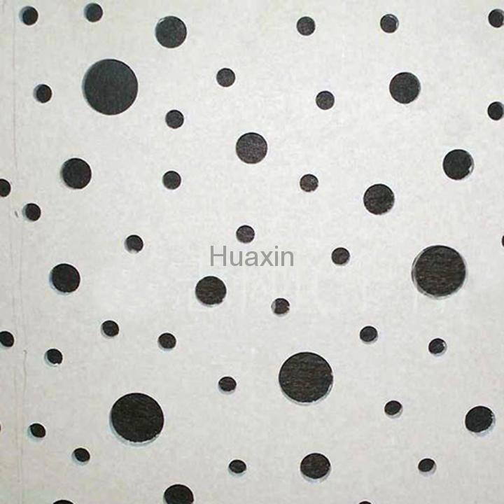 穿孔石膏板-不规则泡泡孔 2